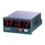KEP 525K.2 Pulse Counter, Position Display, Rate Meter, Time Meter & Combination - Adding Counter and Tachometer - Click here for product information page