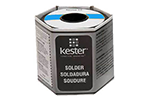 Kester 14-5050-0125 Solid Solder Wire, 0.125 dia, 1 lb Spool, Sn50/Pb50