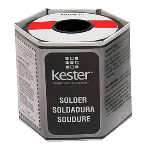 Kester 24-6337-6401 331 Water Soluble Organic Flux Core Solder Wire, 0.020 dia, 1 lb, Sn63/Pb37