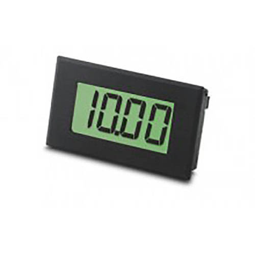 Lascar DPM 912 Large 3 1/2-Digit LCD Panel Voltmeter with LED Backlighting, 2-Wire Operation
