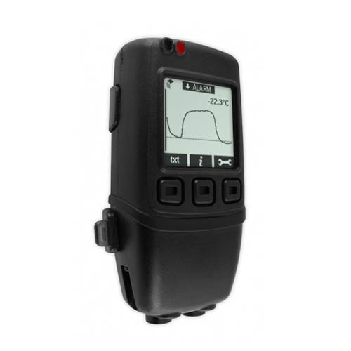Lascar EL-GFX-DTP+ High Accuracy Dual Channel Temperature Probe Data Logger, with Graphic Screen