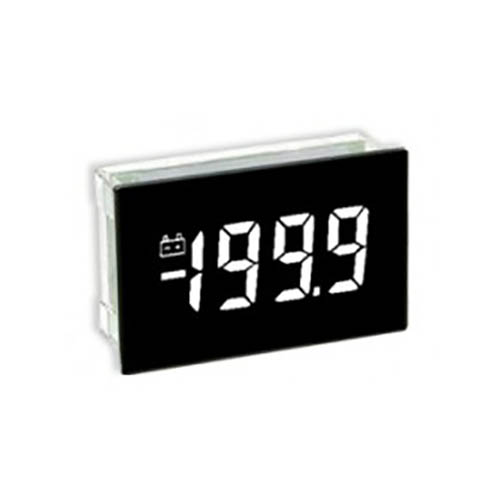 Lascar SP 400-EB-W 3 1/2-Digit LCD Panel Voltmeter Module, White LED Backlight