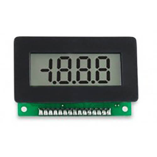 Lascar V 600 (PK OF 10) 3 1/2-Digit LCD Panel Voltmeter w/15 Pin SIL, 10-pack