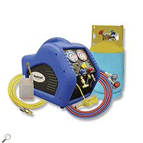 Mastercool 69110 Automotive A/C Recovery System (Blue/Yellow)