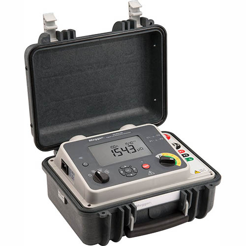 Megger DLRO100X (1004-899) Portable Micro-Ohmmeter, 100A, Data Storage, Dual Ground, AC Powered Only