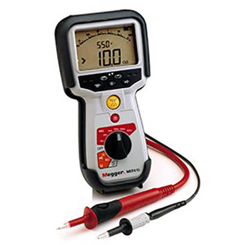 Cable Resistance Tester : Megger mit  insulation resistance and