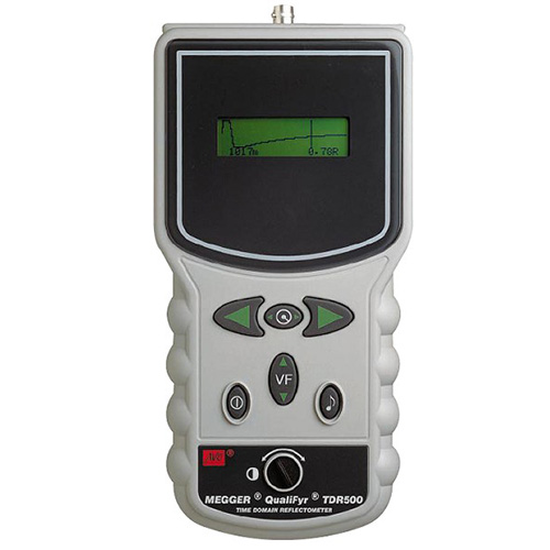 Megger Cable Fault Locator : Megger tdr hand held time domain reflectometer cable