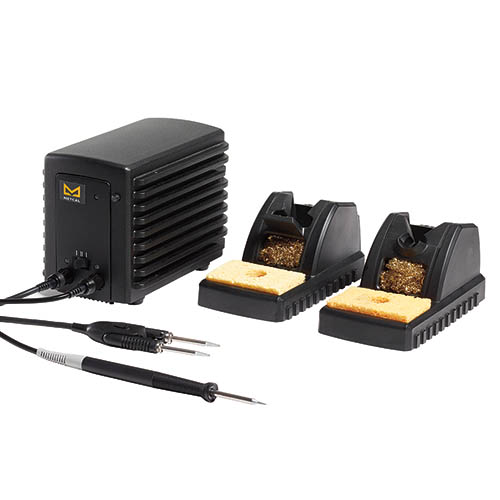 Metcal MFR-2241 MFR-2200 Dual Port Simultaneous Soldering/Rework System w/2 Hand-Pieces/2 Workstands