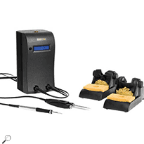 Metcal MX-500SPT MX-500 Dual Port Switchable Soldering/Rework System w/2 Hand-Pieces/2 Workstands
