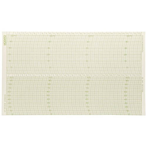 Oakton WD-08369-61 Chart paper, 22 to 104°F, 100/pack