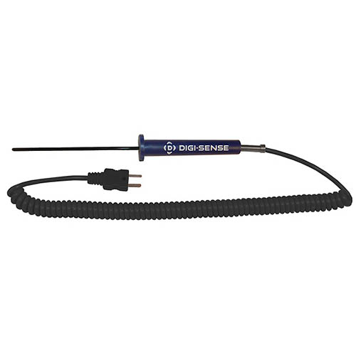 Oakton WD-08441-10 Low-Cost PTFE-Coated General-Purpose Thermocouple Probe, Type-J