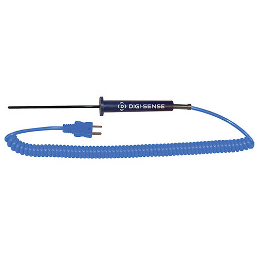 Oakton WD-08441-14 Low-Cost PTFE-Coated General-Purpose Thermocouple Probe, Type-T