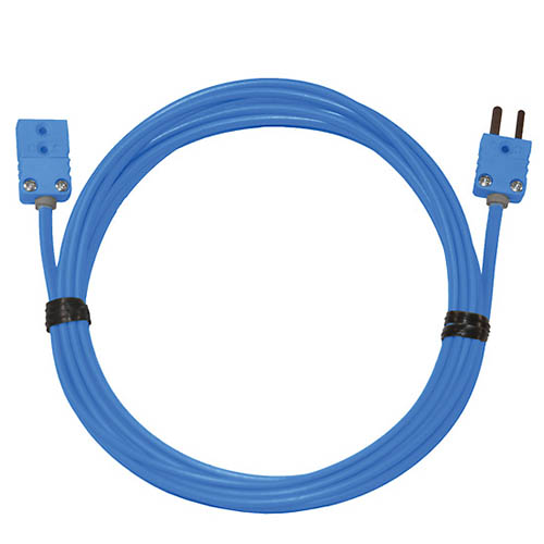 Oakton WD-08505-30 Thermocouple Extension Cable, Type-T, 10 ft. w/miniconnectors