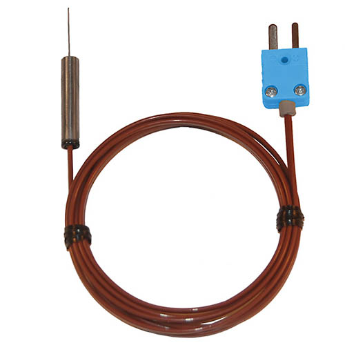 Oakton WD-08505-93 Penetration Thermocouple Probe with Hypodermic Needle, Type-T, 2.25