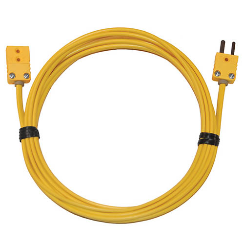 Molded Connectors With Thermocouple Extension Cables : Oakton wd thermocouple extension cable type k
