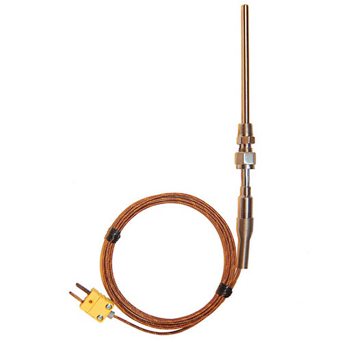 Oakton WD-08516-71 Pipe Fitting Thermocouple Probe, Type-K, 4