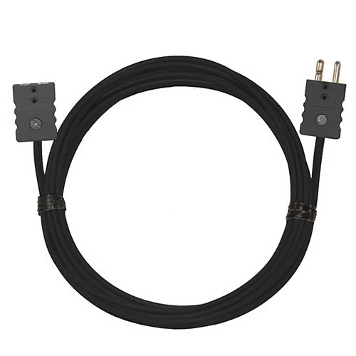 Oakton WD-08517-52 Thermocouple Extension Cable, Type-J, 50 ft. w/Standard Connectors