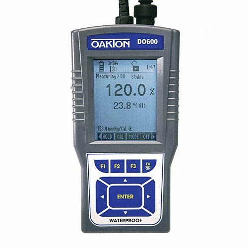 Oakton WD-35441-00 CyberScan DO 600 Dissolved Oxygen/Temperature Meter and Probe
