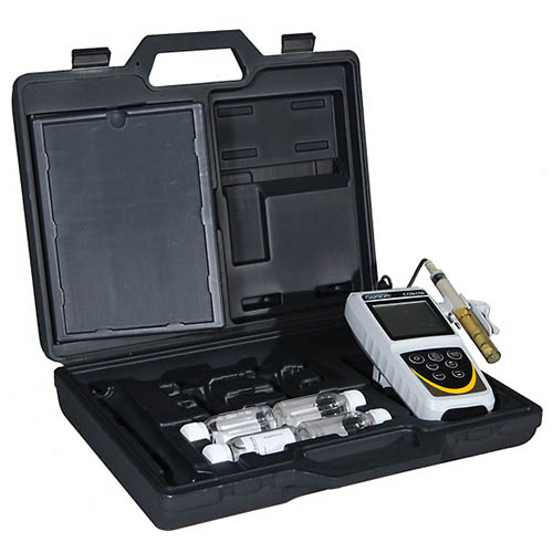 Oakton WD-35607-90 CON 150 Conductivity/TDS Meter Kit with Probe, Calibration Solutions & Hard Case