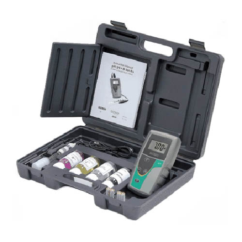 Oakton WD-35613-55 pH 5+ pH/Temperature Meter Kit w/Probes, USB Cable, Case, Cal. Solutions, NIST
