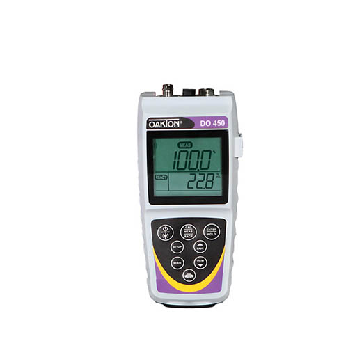 Oakton WD-35640-34 Eutech DO 450 Dissolved Oxygen/Temperature Meter Only with NIST Certification
