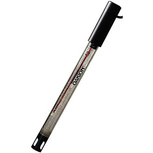 Oakton WD-35801-80 All-in-One Flushable PTFE Junction pH Electrode, DJ, Glass, Refillable