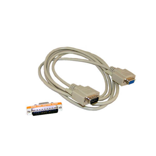 OHAUS 80252574 RS232 Cable, Adapter (used w/80252042 Printer) for CW11, CKW55, T31XW, T51XW, T71XW