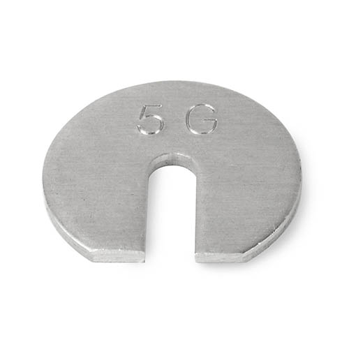 OHAUS 80850142 Slotted Weights 5g