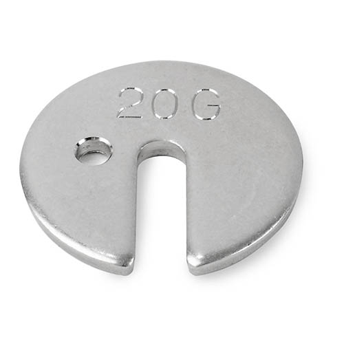 OHAUS 80850144 Slotted Weights 20g