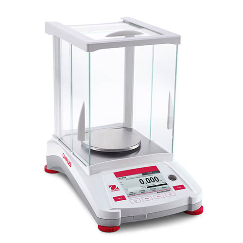 OHAUS AX224N Adventurer Pro II Analytical/Precision Balance, AutoCal, NTEP Certified, 220 g, 1.5 ppm
