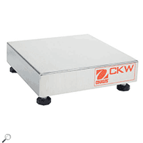 OHAUS CKW15L Champ CKW Bench Scale Base capacity 15kg, readability 0.002kg, 12 x 12in
