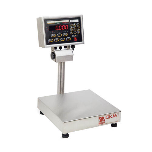 OHAUS CKW30L55 CKW Washdown Checkweighing Scale, Capacity 30kg (60lb), Readability 5g (0.01lb)