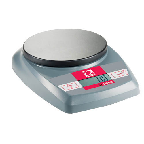OHAUS CL2000 CL Portable Balance, Capacity 2000g, Readability 1g, Platform 120mm