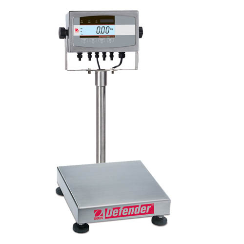 OHAUS D51XW10WR3 Defender 5000 Washdown Bench Scale, Capacity 10kg (25lb), Readability 0.001kg