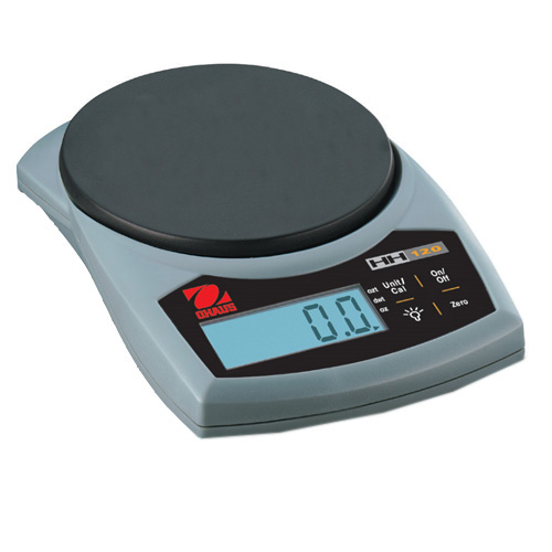 OHAUS HH120D-0W0 HH Hand Held Scale, Capacity 60g/120g, Readability 0.1g/0.2g, Platform 83x76mm