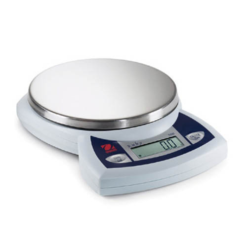 OHAUS JR300 Ruby Compact Jewelry Scale, 300 x 0.1 g Capacity x Readability, +/-0.1 g, Linearity