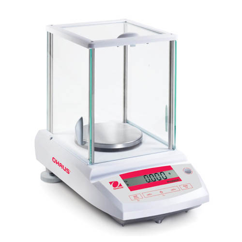 OHAUS PA523C Pioneer Analytical/Precision Balance, 520g Capacity, 1mg Read, Internal Calibration
