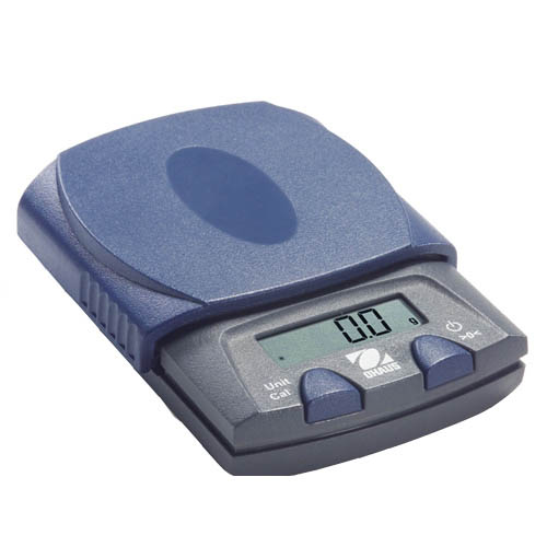 OHAUS PS251 PS Pocket Jewelry Scale, Capacity 250g, Readability 0.1g, Platform 85x100mm