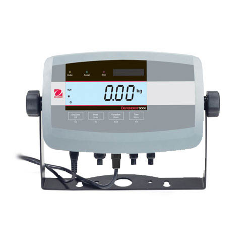 OHAUS T51P Defender 5000 Weighing Scale Indicator ABS housing, dry use