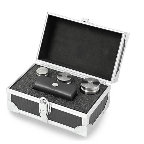 OHAUS TW-2 D.O.T 2 lb-.05 oz Class F Stainless Steel Test Weight Set with Traceable Certificate