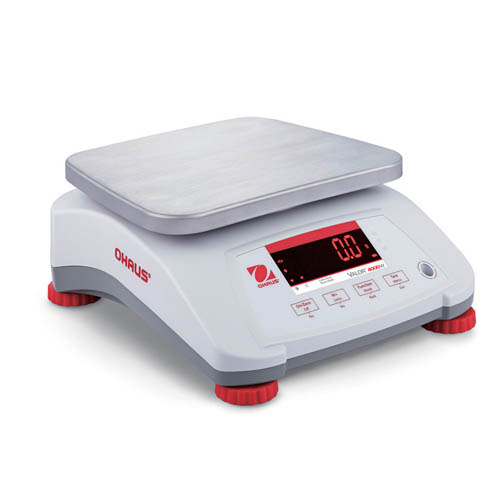 OHAUS V41PWE3T Valor 4000 Compact Food Bench Scale, 3 kg (6lb) capacity, 0.001 lb Readability