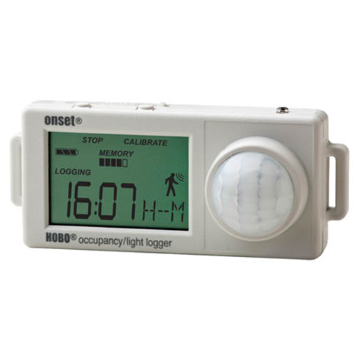 Onset UX90-006M HOBO Expanded Occupancy/Light Runtime Data Logger with 12m Range (346,795 Measurements)