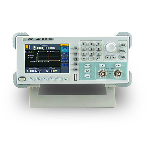 Owon AG1022-PAM 25 MHz, 2 Ch DDS Arbitrary Waveform Generator with PAM