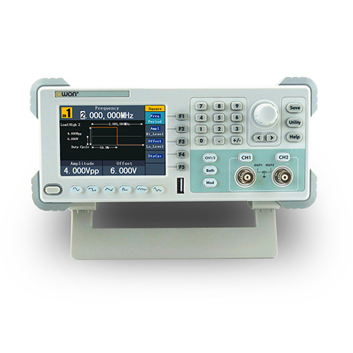 Owon AG2062F-PAM Dual-channel Arbitrary Waveform Generator 60MHz, with Power Amplifier Module