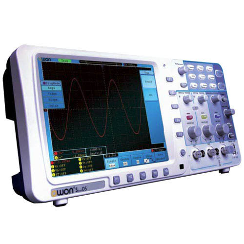 Owon SDS8302 300 MHz, 2.5 GS/s, 2+1 Ch Digital Storage Oscilloscope with VGA