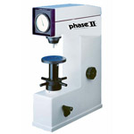 Click here for larger image of the Phase II+ 900-331 Rockwell Hardness Tester, Dead Weight Test Force, Hydraulic Dashpot, Analog display