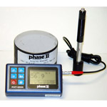 Click here for larger image of the Phase II+ Portable Hardness Tester, RS232 interface, Data Storage, 200-960 HL