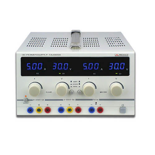 Promax FA-665B Adjustable DC Regulated Power Supply, 30V, 5A