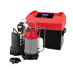 Click here for a larger image - Ridgid 47318 500RSS 1/2 HP Sump Pump System w/ Battery Backup, Advanced Notification, & Backup Pump