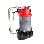 Click here for a larger image - Ridgid 47338 RS75 3/4 HP 80 GPM @ 5' Sump Pump w/ cast iron const 8' power cord & auto vert switch